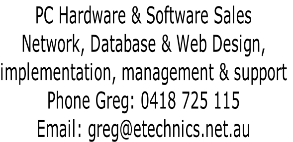 PC Hardware & Software Sales